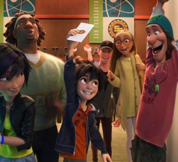 Velká šestka KINORIP (movie) / Big Hero 6 (2014)
